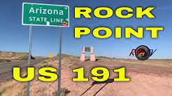 Rock Point Arizona - Ute Reservation - US 191