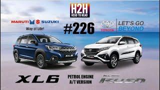 NEW H2H #226 Suzuki XL6 vs Toyota RUSH