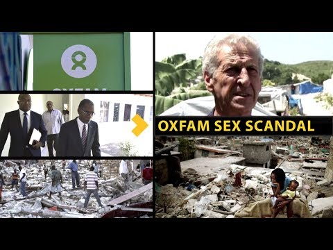 Oxfam Sex Scandal