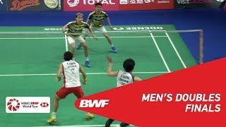 Download Video F | MD | GIDEON/SUKAMULJO (INA) [1] vs KAMURA/SONODA (JPN) [4] | BWF 2018 MP3 3GP MP4
