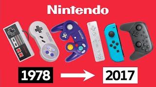 Evolution of Nintendo Controllers 1978-2017