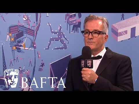 Adapted Screenplay winner Interview   Lion screenwriter Luke Davies   BAFTA Film Awards 2017 i