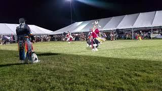 Jr Men's Northern Straight Traditional Friday Muckleshoot Veteran's Powwow 2018