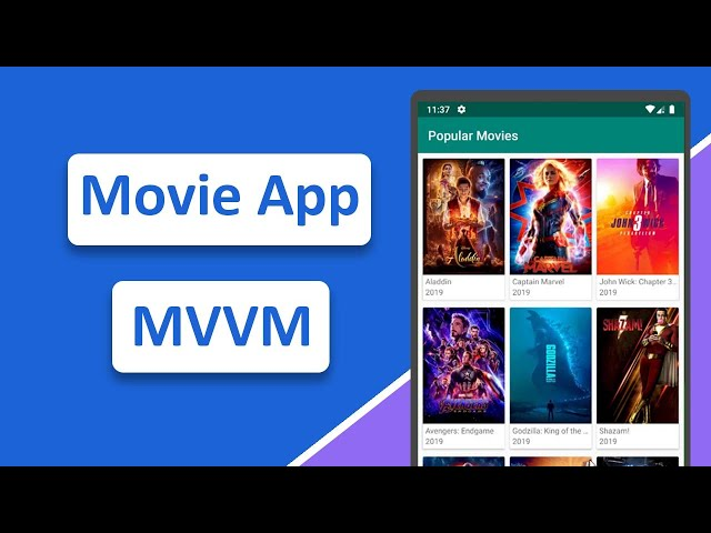 3.4 Android Movie App MVVM | PagedListAdapter
