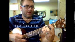 "How to play  ""Money (That's What I Want)"" by Barrett Strong on acoustic guitar"
