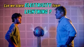 Can we store electricity from lightning? | LMES