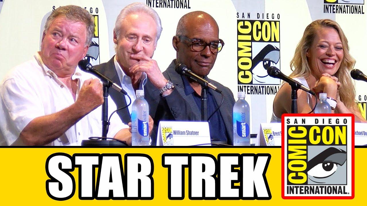 Download STAR TREK 50th Anniversary Comic Con Panel (Part 1) - William Shatner, Jeri Ryan