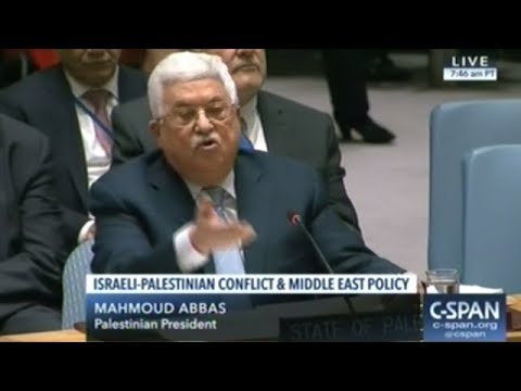 Palestinian President Asks U.N. Security Council To Take Peace Negotiations Away From United States!