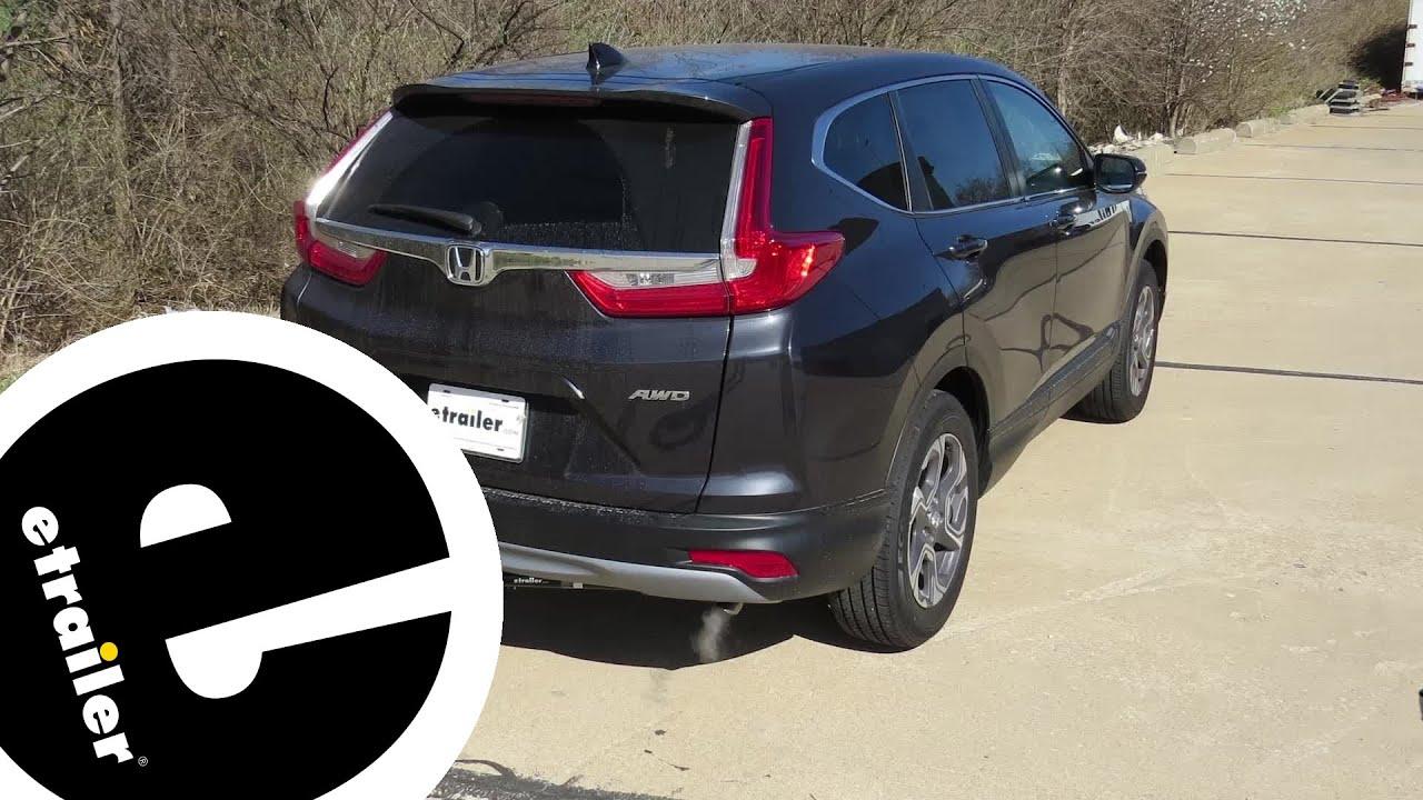2017 Honda Cr V Towing Capacity >> Trailer Hitch Installation 2017 Honda Cr V Etrailer Com Youtube