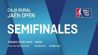 Semifinales - Tarde - Caja Rural Jaén Open 2018 - World Padel Tour
