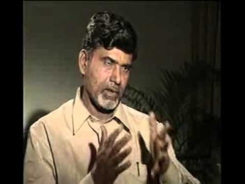 Chandrababu Naidu Interview with Rajeev Shukla