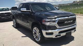 2019 Ram Limited 1500 on 35's and 24 inch wheels