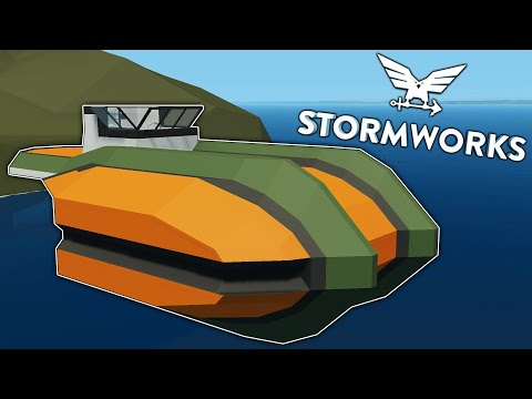 Weird Submarine Hull! -  Soobmarine - Stormworks: Build and Rescue - Part 1