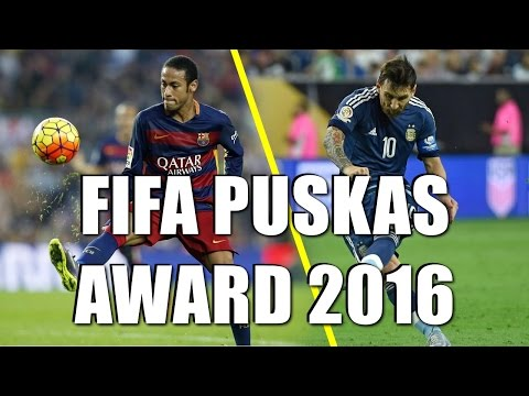 FIFA Puskas Award 2016 - All Nominated Goals