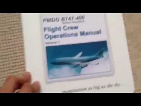 pmdg 747 400 captains manual set unboxing youtube rh youtube com United Airlines Boeing 747 Interior New Boeing 747