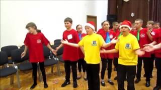 """Конкурс новогодней песни в мимике и жестах """"Сипелки"""" в ГБОУ Гимназия 1538"""