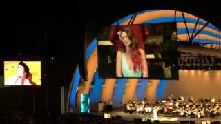 """Part of Your World (Reprise)"" Sara Bareilles Little Mermaid Live in Concert 6/4/16"