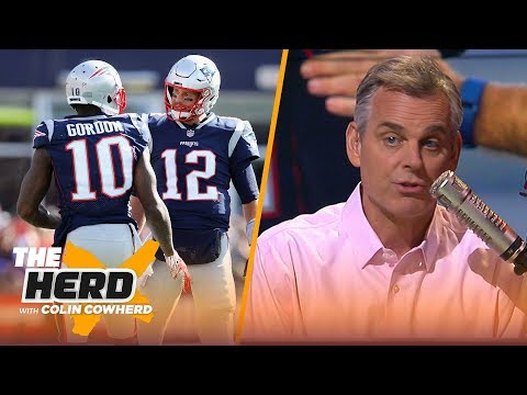 Colin Cowherd believes Josh Gordon's departure impacts the Patriots' SB hopes | NFL | THE HERD
