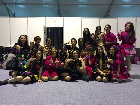 Tim J JKT48 after Surabaya Concert 2016