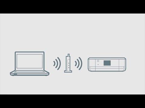 パソコンと接続する (無線LAN自動設定編) (エプソン EP-807A,EP-907F,EP-977A3) NPD5231