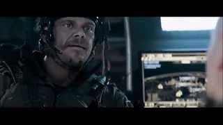 """ELYSIUM [2013] Scene: """"Grab the grenade!""""/Crash Landing."""