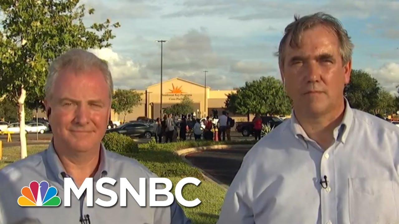 democratic-senators-see-border-detention-centers-firsthand-kasie-dc-msnbc
