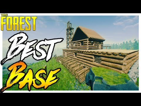 The Forest | BEST BASE EVER | Hard Survival Ep.8