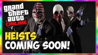 GTA 5 Online Gameplay - Rockstar Confirms Heist is Coming to GTA V Online!