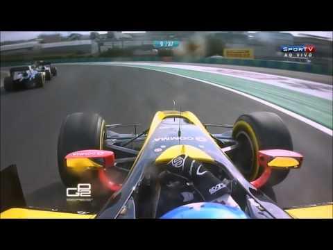 Felipe Nasr vs Jolyon Palmer, GP2 Hungaroring