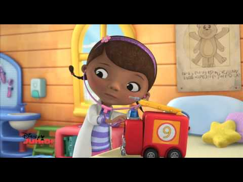 Thumbnail: Engine Nine, Feelin' Fine! | Doc McStuffins | Disney Junior UK