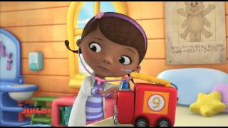 Engine Nine, Feelin' Fine! | Doc McStuffins | Disney Junior UK