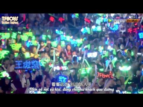 [Vietsub Live] Chàng trai của nắng - 阳光宅男 - Vương Tuấn Khải