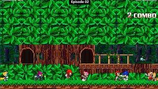 [Sonic Mugen 02] Team Sonic Freedom Fighter Vs Team Knuckles Chaotix