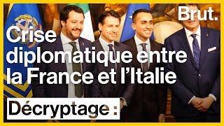 Crise diplomatique entre la France et l'Italie