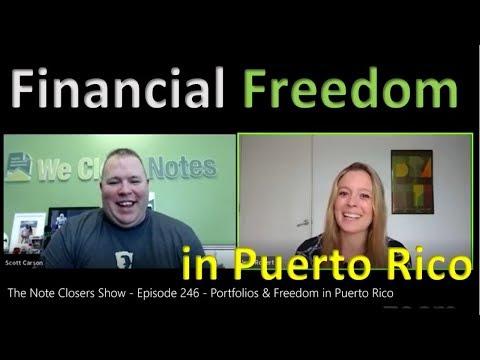 TV Interview: Portfolios & Freedom in Puerto Rico