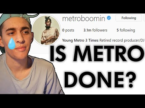 Metro Boomin Has Retired from Producing?!? Is He Done?