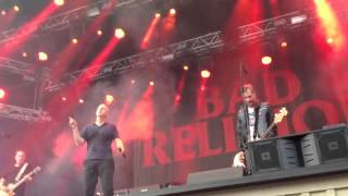 "Bad Religion ""Land of Endless Greed"" Live Stockholm, Gröna"