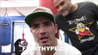 brandon rios reacts to victor ortiz threat of destroying him insists he s training like a beast