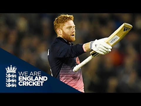 Jonny Bairstow Hits Maiden ODI Hundred - Highlights
