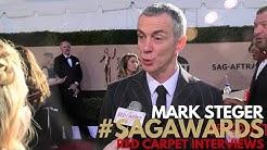 Mark Steger #StrangerThings interviewed on the 23rd Screen Actors Guild Awards Red Carpet #SAGAwards