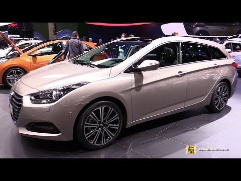 2015 Hyundai i40 Wagon PE 1.7 CRDI Vertex Exterior, Interior Walkaround 2015 Geneva Motor Show