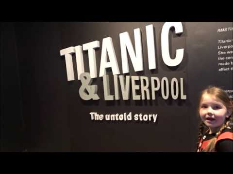 Maritime Museum, Albert Docks, Liverpool, Titanic Exhibit