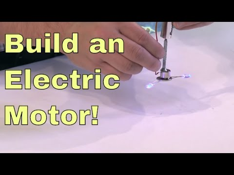 Diy Build A Simple Electric Motor Youtube,Curly Black Female Fade Haircut Designs