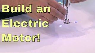 DİY | Basit bir Elektrik Motoru İnşa!