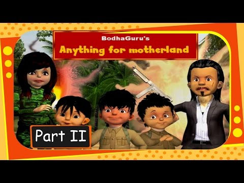 Anything for Motherland - Part 2 - Story on line, angle and geometry - English