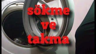 Çamaşır Makinesi Körüğü Nasıl Takılır, Çamaşır Makinesi Körüğü Nasıl Sökülür,