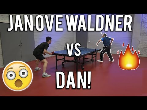 Jan Ove Waldner vs TableTennisDaily's Dan | 2018 Edition