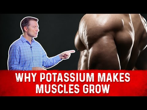 Why Potassium Makes Your Muscles Grow