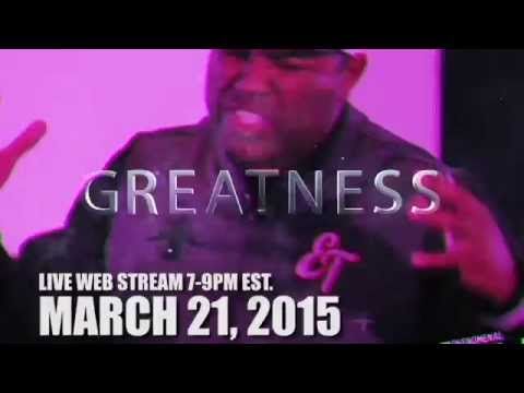 LIVE WEB STREAM! Greatness Session in DC w/ ET & CJ