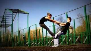 Парная гимнастика (небольшая тренировочка)